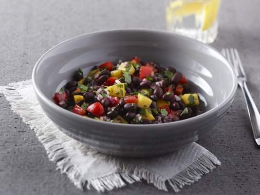 Salade de haricots fruitée