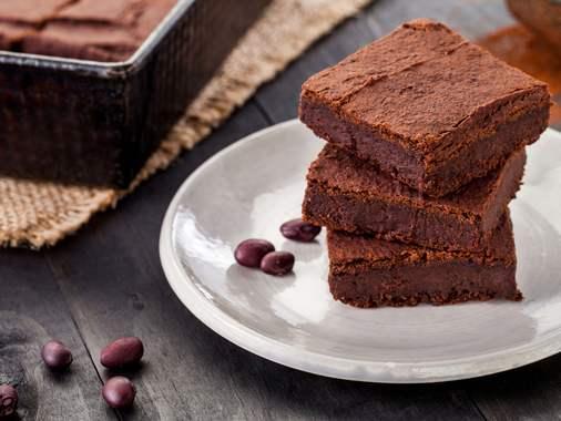 5-ingredient black bean brownies