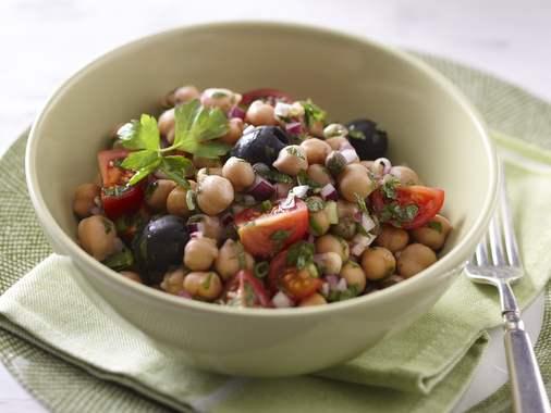 Italian chick pea salad