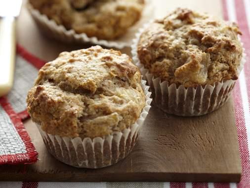 Muffins aux pois chiches et pommes